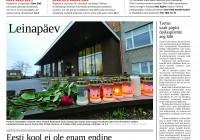 Õpetajate Leht, 31.10.2014