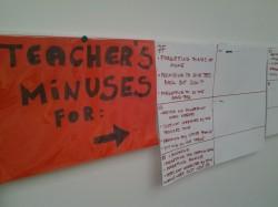 Kõigile vaatamiseks on väljas ka õpetaja enda unustamised ja tegematajätmised.