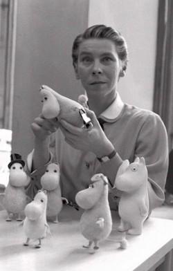 Tove Jansson 1956. aastal. Foto: Vikipeedia