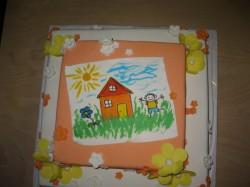Soome eestlaste emakeelepäeva tort. Foto: Virge Sommer