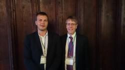 Allan Teder eelmise aasta Nobeli majanduspreemia laureaadi Lars Peter Hanseniga. Fotod: erakogu