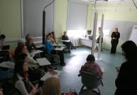 """Töötuba """"Traditsioon ja innovatsioon alushariduses"""" Tallinna ülikoolis toimunud haridusuuenduse konverentsil. Foto: TLÜ"""