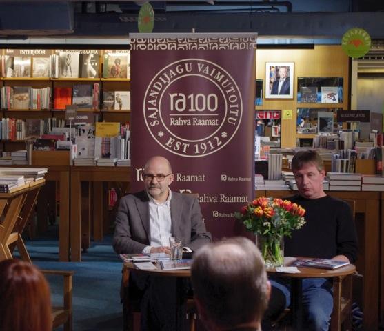 """David Vseviov ja Märt Läänemets teabesarja """"Colourful World"""" esitlusel"""