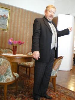 Kirjanikuhärra Eduard Vilde Peeter Kaljumäe kehastuses