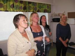 Soome kolleegide õpetatud artikulatsiooniharjutused plaanivad Eesti õpetajad samuti kasutusele võtta.
