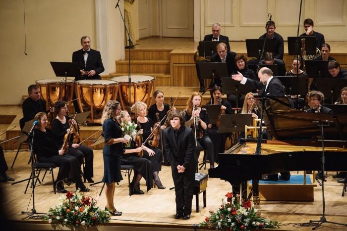 Tänavuse Chopini konkursi grand prix' võitis noor andekas pianist Adam Goździewski Poolast. Foto: Tõnu Tunnel