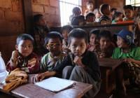Zamkari külakool Kirde-Birmas. FOTO: TRIINU OSSINOVSKI