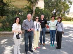 TEK-i töötajad koos Malta MCAST-i esindajaga.