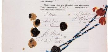 Tartu rahu allkirjad, 2. veebruar 1920.
