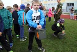 Noor sportlane võis endale tellida ka näomaalingu.