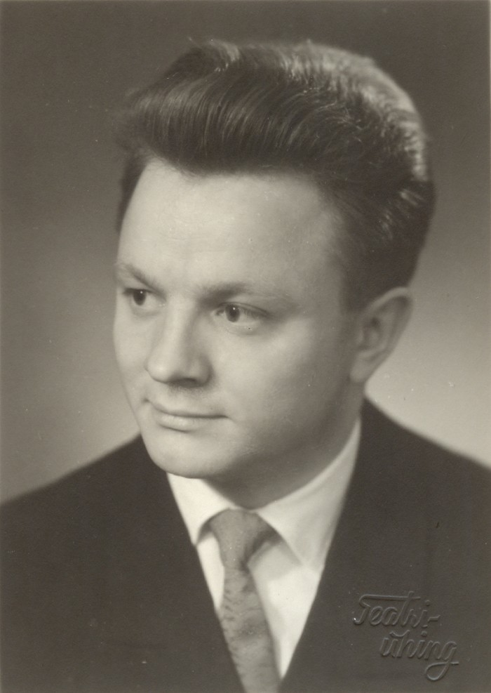 Hinnatud ja armastatud koorijuht ja õppejõud Ants Üleoja Tallinna riikliku konservatooriumi lõpetamise kevadel 1961. aastal.