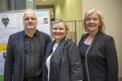 Lapsest lähtuva kasvatuse entusiastid: Turu ülikooli dotsent Jarmo Kinos, Tallinna ülikooli lektor Maarika Pukk ja Londoni Middlesexi ülikooli lektor Leena Robertson.