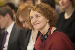 Peaesineja, Itaalia Reggio Emilia koolituskeskuse pedagoog-nõustaja Paola Strozzi.