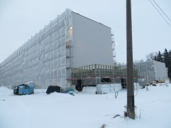Tartu Tamme riigigümnaasiumi ehitus. Foto: Sirje Pärismaa