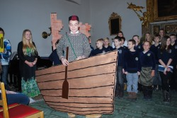 Stockholmi eesti kooli mullusel vabariigi aastapäeva aktusel astus üles ka Viljandi paadimees.