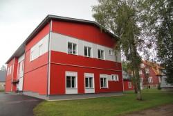 Järvamaa KHK vesiviljeluse õppe- ja katsebaasi uus hoone.
