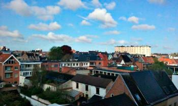 Seda vaadet jään kindlasti igatsema. Vahel on mõnus lihtsalt üle majade katuste vaadata. Foto: Merilin Raidmets