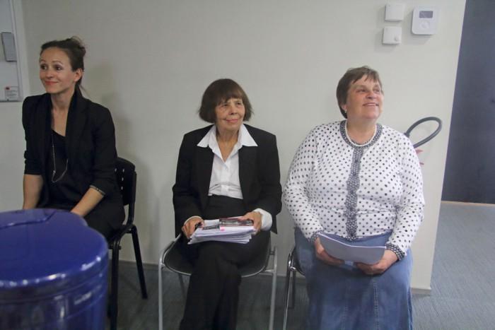Kultuuri koja õpetajaõppe paneelis intrigeerisid kuulajaid Grete Arro, Viive-Riina Ruus ja Tiiu Kuurme. Foto: Raivo Juurak