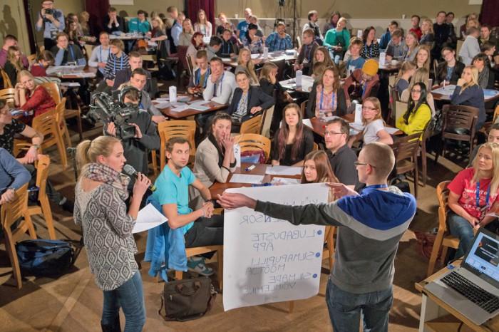"""Tartu ülikooli eelinkubatsiooniprogrammi avaüritus """"Ideede raju"""". Foto: TÜ"""