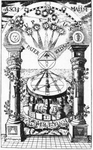 Jaakin ja Boas, templirüütlite resp. vabamüürlaste pühad sambad. Taevast toetava maailmapuu võrdkujud.