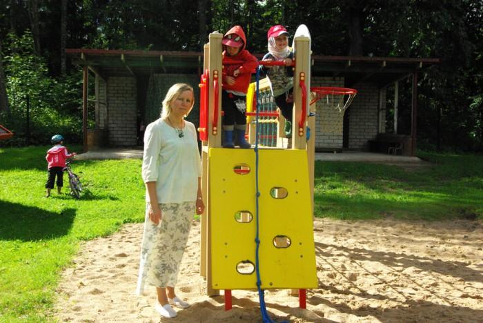 """""""Iga pühendunud juht on väikest viisi maailmaparandaja,"""" usub Eda-Mai Tammiste, kelle sõnul juhiks ei sünnita, vaid kasvatakse tööd tehes ja kogemusi omandades. Foto: Alavere Mõmmila lasteaed"""