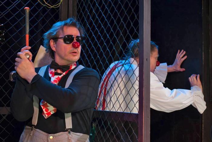 """Piip ja Tuut teatri lavastus """"Piip ja Tuut Hamlet"""". Foto: Jaanus Laagriküll"""