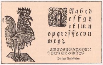 Läti vanim säilinud aabits, 1685.