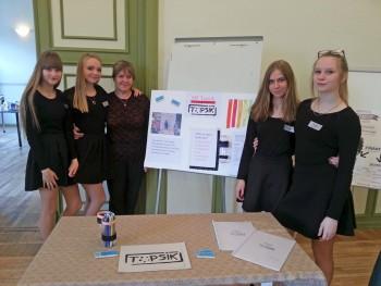 Kristi Suppi ja MF Topsik, Eesti minifirma konkursil III koht.