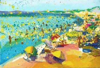 """Oksjonitöö """"Rand Sainte Marie's"""" autor on Tartu kunstikooli 1995. aastal lõpetanud Fideelia-Signe Roots."""