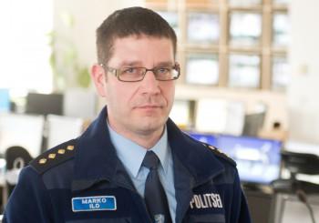 Politsei- ja piirivalveameti valmisoleku ja reageerimise büroo juhtivkorrakaitseametnik Marko Ild. Foto: Mihkel Maripuu / Postimees / Scanpix