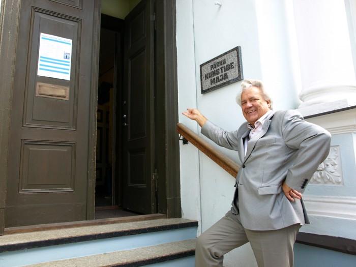 Pärnu kunstide maja direktor Tiit Erm tunneb kõige suuremat rõõmu koostöö üle üldhariduskoolidega. Foto: Pärnu kunstide maja