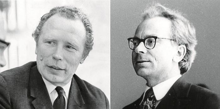 Harri Jõgisalu ja Leonhard Vaide.