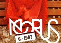 1987. aasta kevade populaarsemaid abituriente Diana Soodla Jõgevalt  (Tiit Koha kaanefoto).  Kas tunnete ära paljude tulevase telelemmiku?