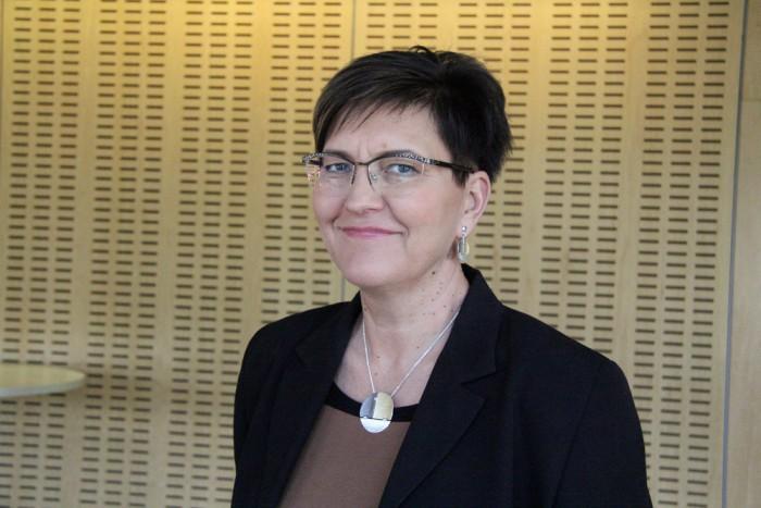 Rajaleidja Läänemaa keskuse juht Tiina Kütt. Foto: Raivo Juurak