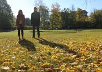 """Tudengivarjuks minemisel peab olema põhjus. Egert Merilaidil varjuks käinud Hanna Kristin Kiiver ei olnud tudengivarjuks minnes oma erialavalikus kindel – pärast """"varjuelu"""" oli märksa kergem otsustada. Foto: Tuuli Hiiesalu"""