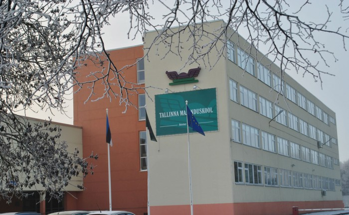 Majanduskooli tänane koolimaja. Fotod: Ene Pajula