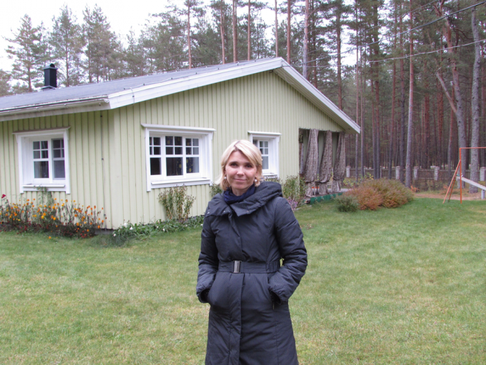 Lasteküla juhataja Kadri-Ann Mänd. Foto: Tiina Vapper