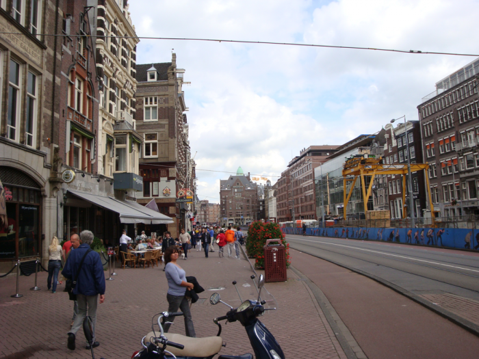 Rokini tänav Amsterdamis.