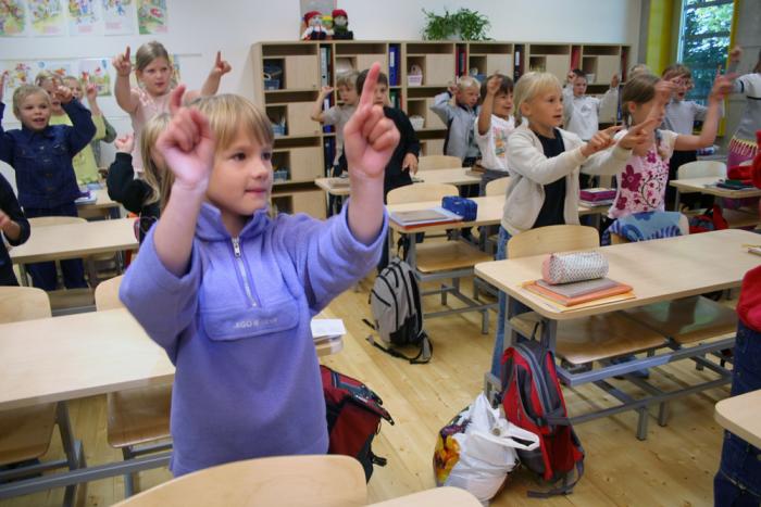 Kui ruumis on hea akustika, ei pea pingutama, et õpetaja jutust aru saada. Pilt on illustreeriv. Foto: Raivo Juurak