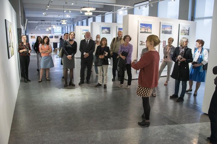 Mõisakoolide näituse avamine Oslos. Foto: Toomas Mitt
