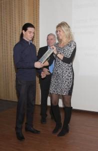 Stipendiaat Artjom Rjabov. Foto: Kristiina Rõžova