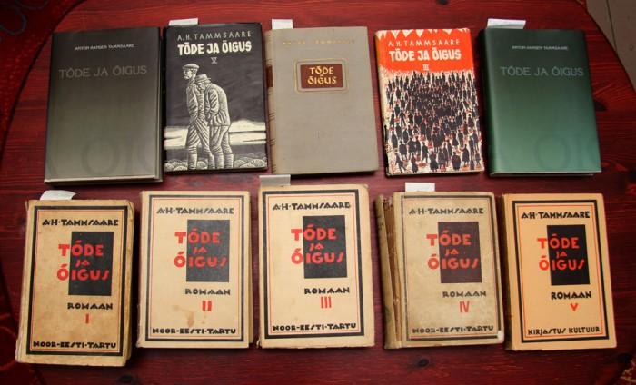 """Need on raamatud, mis kuuluvad """"palun lugege, see on tõesti väga hea raamat!"""" nimekirja. Nad kuuluvad sinna kogu aeg, ükskõik, kui palju uusi raamatuid vahepeal on ilmunud. Fotod: Raivo Juurak"""