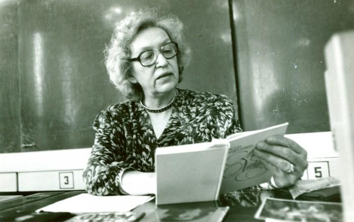 Tamara Sõrmus, baleriin ja matemaatik. Foto: erakogu