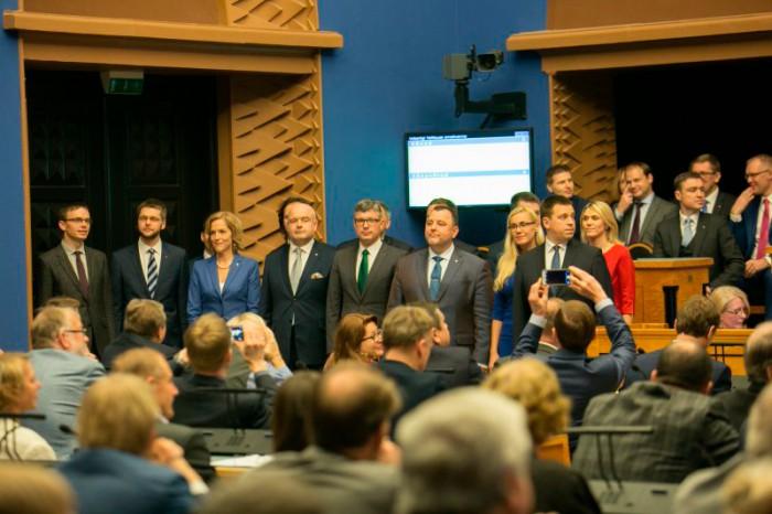 23. novembril astus ametisse Jüri Ratase valitsus. Foto: Valitsuse kommunikatsioonibüroo