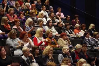 """Juubelikonverents kandis nime """"Väärtustades Eesti lasteaiaõpetajat"""". Foto: Margit Saluotsa"""