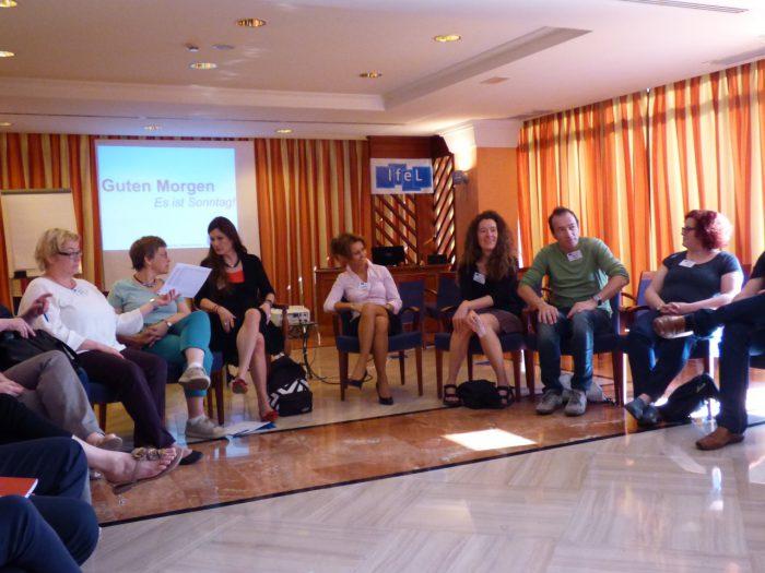 Tenerifel toimusid arutelud saksa keeles.  Foto: erakogu