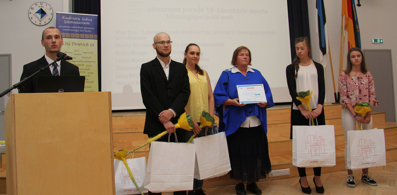 781656b8f08 Kokku lõi projektis kaasa ligi 200 noort 20 koolist, õpet korraldasid  Kadrioru saksa gümnaasiumi, Tallinna reaalkooli ja prantsuse lütseumi ning  Loksa ...