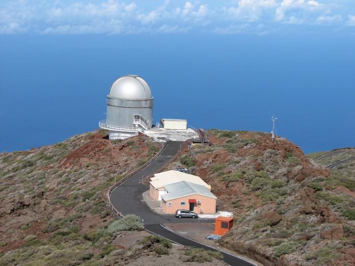 Põhjamaade observatoorium La Palmal.