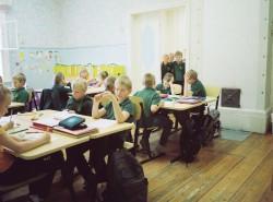 Euroopa majanduspiirkonna mõisakoolide programmi toel arendatakse Ruila mõisast kohalik haridus-, kultuuri-, koolitus- ja turismikeskus. Eelkõige on aga tegu hubase ja sõbraliku maakooliga. Foto: Katrina Tang
