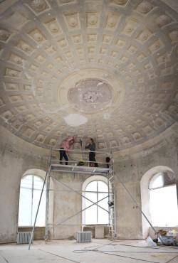 Vääna Mõisakool restaureeritakse ulatuslikult Euroopa majanduspiirkonna mõisakoolide programmi toetuse abil. Foto: Karin Ojaste